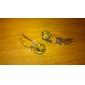 Comércio terno broche super lindo anjo asa colar de lapela colar pin broche europeu e americano X65-X66