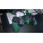 protetora de silicone caso camuflagem estilo para ps3 controlador (verde e preto)