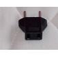 flat to round adaptador de tomada de corrente adaptador de alimentação / cabo de alimentação de alta qualidade, durável