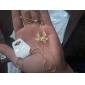 Sweet (Bowknot Pendant) Gold Alloy Pendant Necklace(Gold) (1 Pc)