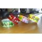 cinta adhesiva de lujo (juego de 4 colores aleatorios) para la escuela / oficina