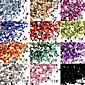 2000PCS 12-Color 1.5mm Circular Diamond Nail Art Decorations
