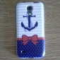 Bow Anchor Pattern TPU Soft Case for S4 Mini I9190