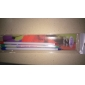 3PCS Nail Art Brushes With Multi-color Handle