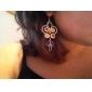Women's Drop Earrings Folk Style Synthetic Gemstones Rhinestone Imitation Diamond Alloy Jewelry For Party Daily