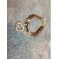 Fashion Heart Pendant Wrap Bracelet(Random Color)
