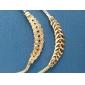 Sweet (Irregular) Gold Alloy Choker Necklace() (1 Pc)