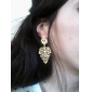 European Bohemia Leaves Drop Earrings(Assorted Colors)