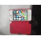 MAYLILANDTM Frosted Design Magnetic Buckle Full Body Case for iPhone 4/4S