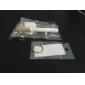 3-en-1 cigarette blanc en forme de poche à DEL + laser rouge + stylo à bille noir trousseau (3 * LR41)