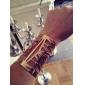 Женский Браслет разомкнутое кольцо Винтаж Браслеты Уникальный дизайн Мода Синтетические драгоценные камни Сплав Бижутерия Бижутерия