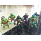 Q Version Ninja Turtles Joint Motion Action Figures Set Toys (6pcs)