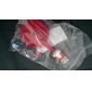 Micro USB к USB между мужчинами кабель для Samsung / Huawei / ZTE / Nokia / HTC / Sony Ericson Красный плоский тип (1M)