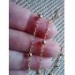 Золотой Ожерелья с подвесками Сплав Для вечеринок / Повседневные Бижутерия