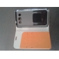 For Samsung Galaxy Case Card Holder / with Stand / Flip Case Full Body Case Solid Color PU Leather Samsung Win
