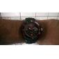 Masculino Relógio Esportivo Quartzo Quartzo Japonês Calendário Impermeável Banda Preta Laranja Vermelho Verde Azul