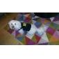 강아지 티셔츠 강아지 의류 통기성 문자와 숫자 블랙 코스츔 애완 동물