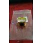 Муж. Массивные кольца Драгоценный камень Естественный черный На заказ Любовь Нержавеющая сталь Акрил Позолота 18K золото Квадратный