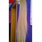 Отлично качества синтетического 24-дюймовый Длинные прямые Лента хвост парики - 18 Цвета