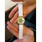 Жен. Модные часы Кварцевый PU Группа Цветы На каждый день Черный Белый Коричневый