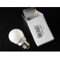 Lâmpada Redonda LED Regulável E26/E27 3W 240-270LM LM 3200K K Branco Quente 12 SMD 2835 AC 220-240 V