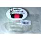 LED Taschenlampen Schlüsselanhänger Taschenlampen LED 25 lm 1 Modus - Mini Wasserfest für Für den täglichen Einsatz Gelb Braun Rot Grün