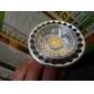 3W GU10 Spot LED MR16 1 diodes électroluminescentes COB Intensité Réglable Blanc Chaud 260-300lm 3000K AC 100-240V