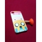 Cartoon Pig Castles Pattern Hard Case for iPhone 4/4S