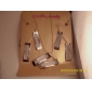 Fashion Rectangle Shape Shinning Jewelry Set(1 Set)