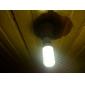 2.5W E26/E27 Ampoules Maïs LED T 27 diodes électroluminescentes SMD 5050 Blanc Chaud 150-200lm 2500-3500K AC 85-265V