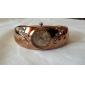 Жен. Модные часы Часы-браслет Кварцевый Имитация Алмазный сплав Группа Кольцеобразный Элегантные часы Бронза