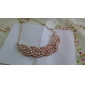 Women's Pendant Necklaces Collar Necklace Pearl Alloy Luxury Jewelry Jewelry Party