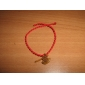 China Red Classic Red Rope Bracelet Axe Pendant with Chinese Characters