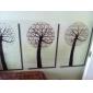 90x45cm Motif d'arbre résistant à l'huile imperméable à l'eau sticker mural de cuisine