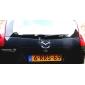 3d drôle style diable d'argent décoration auto papier démon voiture chaude autocollants (1 pc)
