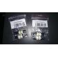 T10 차 모터사이클 화이트 3W SMD 5050 COB 6000-6500 데이타임 러닝 라이트 인스루먼트 라이트 리딩 라이트 라이센스 플레이트 라이트 리버싱 램프 도어 램프