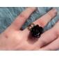 Femme Bagues Affirmées Ajustable Ouvert Acrylique Alliage Roses Fleur Bijoux Quotidien