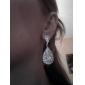 Boucles d'oreille goutte Strass Alliage Bijoux Pour Quotidien