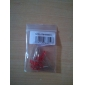 3mm Red Light Emitting Diode LED Lamps (20 Pieces a Pack)