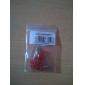 3mm vermelho lâmpadas de diodo emissores de luz LED (20 peças por pacote)