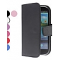 Solid Color PU Leather Case with Card Slot for Samsung Galaxy S3 I9300