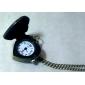 Unisex LOVE Style Alloy Analog Quartz Keychain Necklace Watch (Bronze) Cool Watches Unique Watches