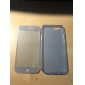 touch screen TPU caso de corpo inteiro transparente para iphone 6 / 6s (cores sortidas)