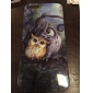 Two Owls on Tree Pattern Silicone Soft Cover for iPhone 6/6S