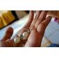 Mulheres Brincos Curtos Básico Moda Estilo bonito bijuterias Pérola Liga Formato Animal Borboleta Jóias Para Festa Diário Casual