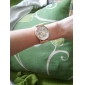 Women's Fashion Style Flower Pattern PU Band Quartz Wrist Watch  Cool Watches Unique Watches