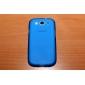 Estilo simples TPU macio para Samsung Galaxy S3 I9300 (cores sortidas)