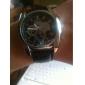 Мужской Наручные часы Кварцевый PU Группа Черный Коричневый