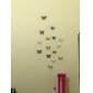 Стильные настенные наклейки, в виде бабочек (1 шт.)