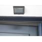 4-LED PIR Sensor de Luz Monte Garden Lamp Portão Solar Montion parede exterior da porta